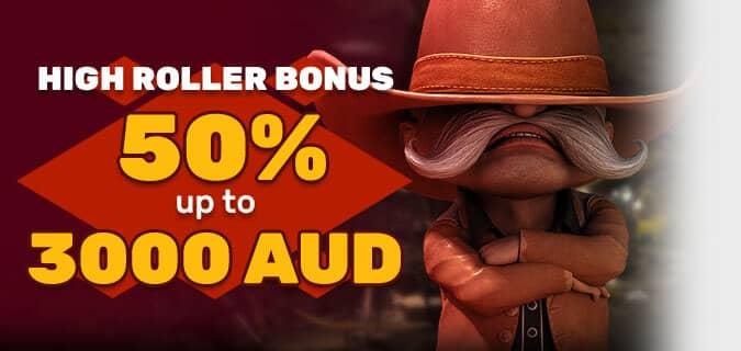 Australian High Roller Bonus